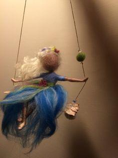 Nadel Filz Fairy Waldorf inspirierte Fairy Gone with von DreamsLab3