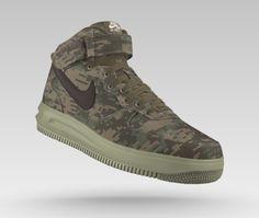 72f5906b86f60 ... Air force 1 - Mid - Digi Camo - Bamboo - Nike iD ...