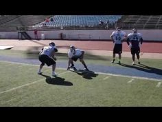 Down the line containment: Linebackers and tight ends - YouTube
