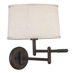 Aldrin 1-light Copper Bronze Swing Arm Wall Lamp - 14701845 - Overstock - Top Rated Design Craft Sconces & Vanities - Mobile