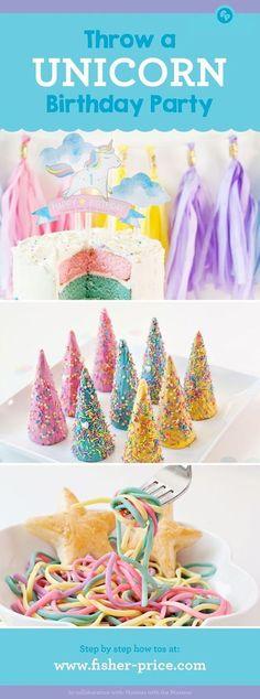 Throw a Unicorn Birthday Party