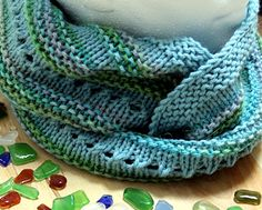 In the aftermath of the East Coast's Hurricane Sandy and our West Coast's 7.7 magnitude earthquake (thankfully minimal damage and no lives lost) I bring you my Calm Seas Cowl. A row of bubbles is suspended between the gentle ripples of garter stitch, representing the peacefulness of a calm day on the ocean.
