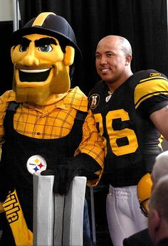 Steely McBeam and Hines Ward :)