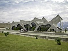 Georgia Rest Stops  By J.Mayer H. Architects