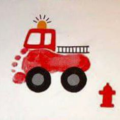 Fire engine footprint