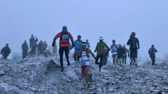 Bed Bahadur Sunuwar a Nepalese soldier won the largest marathon in the world on the snowy slopes of Mount Everest.