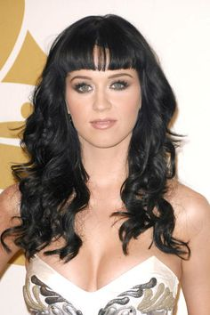 Katy Perry's blunt bangs