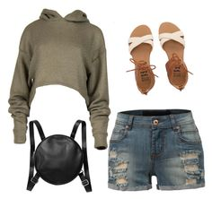 """""""Untitled #15"""" by explorer-14579832192 ❤ liked on Polyvore featuring LE3NO, Billabong and Monki"""
