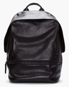 Deluxshionist's Choice BAG 3.1 Phillip Lim BLACK LEATHER 31 HOUR BACKPACK