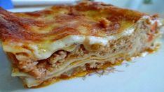 Vynikajúce domáce lasagne z mletého bravčového mäsa s báječnou chuťou! - Recepty od babky Pasta, Penne, Lasagne Bolognese, Bologna, Thing 1, Lasagna, Quiche, Main Dishes, Food And Drink