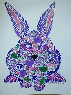 Millie Marotta Animal Kingdom Colored By Tammy Beard