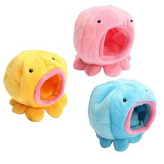 Tinksky baby Rat Hamster Bird Squirrel Warm Soft Bed Pet Toy House Cage Octopus Shape for any small pets Yellow * Discover more concerning the great product at the photo link. (This is an affiliate link). Diy Hamster Toys, Small Hamster, Pet Toys, Hamster Ideas, Hamsters As Pets, Rats, Hamster Bedding, Small Animal Cage, Small Animals