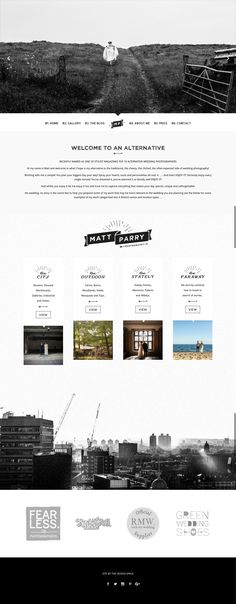 Matt is a creative wedding photographer who offers a new approach to wedding photography in London, UK and Destination. Creative Web Design, Blog Design, Wedding Photographer London, Design Inspiration, Design Ideas, Alternative Wedding, Business Website, Wordpress Theme, Wedding Photography