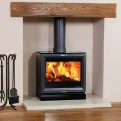 Stovax view 8 wood burning contemporary stove