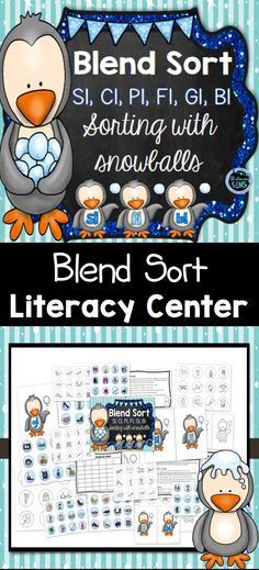 Sort the blend snowballs under the correct blend. Recording sheets also included. Winter Fun, Winter Theme, Character Traits Activities, L Blends, Teaching Resources, Classroom Resources, Higher Order Thinking, Recording Sheets, Writing Lessons