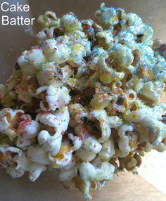 Three Easy Popcorn Recipes
