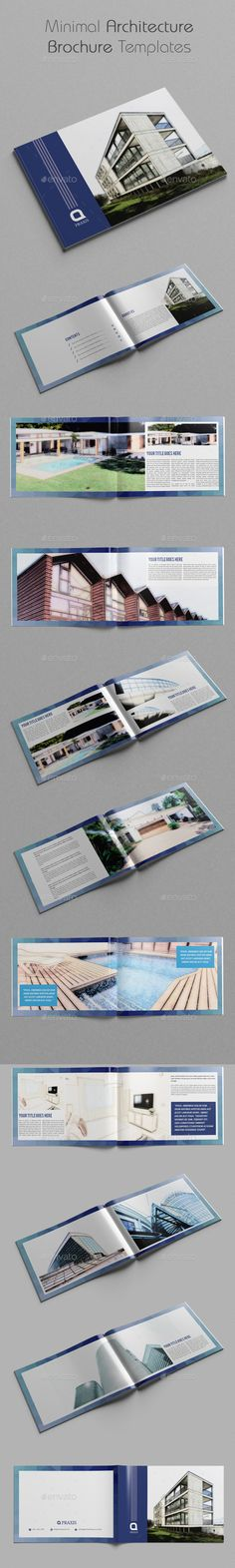 Architecture Brochure Template VerIi  Architecture Brochure