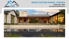 Bison custom Homes offers luxury new home construction or renovation of an existing one. From counseling to moving up our sleeves, Bison custom Homes has the talent and abilities to oversee your investment, wherever you are all the while. Custom Home Plans, Custom Home Designs, Custom Home Builders, Custom Homes, Design Your Dream House, House Design, Superior Homes, Best Architects, New Home Construction