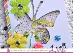 Get Well - Butterfly Shaker