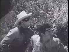 1949 - The Lone Ranger - Clayton Moore & Jay Silverheels #movie #loneranger #vid