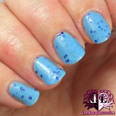 Lazy Lacquerista: Peita's Polish Swatch :: Blueberry Bonanza from What's In-Die Box February 2014