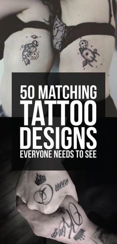 50 Matching Tattoo Designs Everyone Needs to See