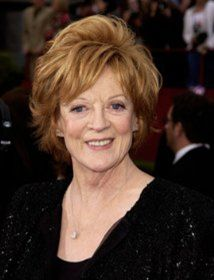 Maggie Smith plays Violet Crawley, Dowager Countess of Grantham on Downton Abbey