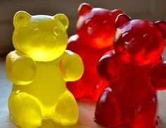 Large Gummy Bear Soap  Soap for Kids  Childrens by ajsweetsoap