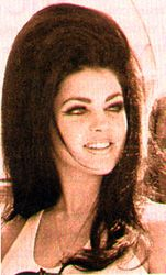Priscilla Presley in the Elvis days....She has THE HAIR....her & Elvis WIN BEST Hair of THE DECADE....NO LIE! I LOVE hair with VOLUME & BODY...What's that Hairspray in the RED Can called again? Oh YEAH, BIG SEXY HAIR! :D