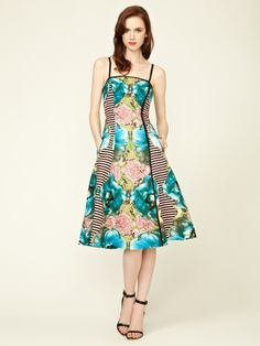 i love the patchwork treatment on this dress by Tracy Reese on Gilt.com