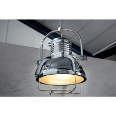 Moderne hanglamp Industrial II chroom 35cm - 35212