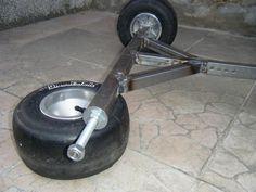 :: Mijn trike demontable gemaakt in Casto