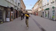 Join world championship kickboxer, Nenad Pagonis, for a unique stroll down Dunavska Street, one of the oldest streets in Novi Sad, Serbia.