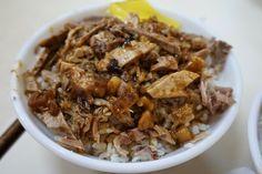 minced pork duck rice | Taiwanese food 鴨魯飯