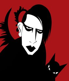 marilyn manson - DARK AND COLORFUL Marilyn Manson Paintings, Marilyn Manson Art, Axl Rose, Phantom Of The Opera, Les Miserables, Caricature, Metallica, Filmmaking, Rock N Roll