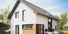 Fertighaus Einfamilienhaus: NEO 300 Außenansicht Galerieverglasung