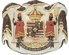 Hawaii Coat Of Arms Drawing