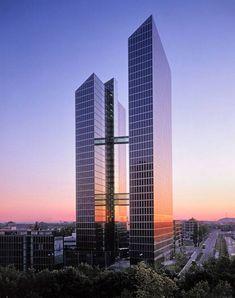 Highlight Towers, Munich, Germany.