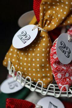 honeysuckle: DIY Advent Calendar