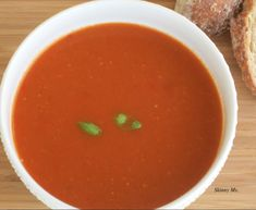 Tomato Basil Soup - Roasted tomatoes have up to eight times the amount of the powerful antioxidant lycopene than uncooked tomatoes.