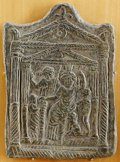 Cybele Goddess plaque Exhibited in Lyon. 2-3 cent. CE.  by Asoka: Buddhism from Asia to Scandinavia, via Flickr