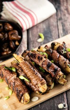 Veal Rolls With Zucchini