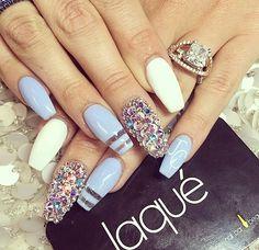 Sparkly Nails!! | via Tumblr