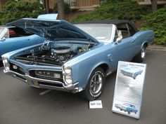 1967 Gto, Pontiac Gto, Le Mans, Hot Rods, Muscles, Dream Cars, Classic Cars, Running, American
