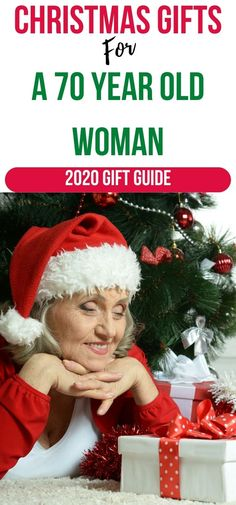 The best Christmas presents for a woman 70 years of age that she will love! Find beauty, cooking, craft, wellness and gardening gifts and more for women 70+