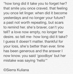 for every ex boyfriend you can thank for making you stronger ©Sierra Kuliana