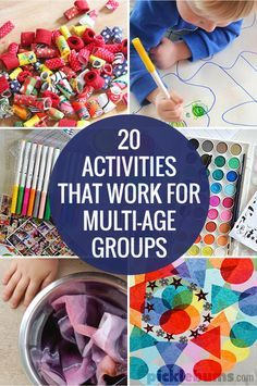 20 Activities for Multi-Age Groups