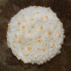 Set of two Gorgeous Rose kissing Balls  by ForevermoreFlowers, $40.00