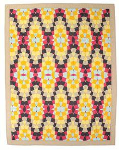 Modern Geometric Baby Quilt / Toddler Quilt