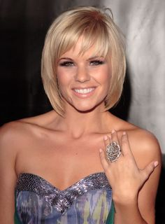 Bob Hairstyles : Good Short Bob Hairstyles With Bangs For Straight Sleek Hair In Golden Blonde Color 2016 Short Bob Hairstyles with Bangs for Fine Hair Short Bob Haircuts Layered Bob Hairstyles Bangs. Short Haircuts With Bangs, Latest Short Hairstyles, Bob Haircut With Bangs, Layered Bob Hairstyles, Haircuts For Fine Hair, Short Hair Cuts, Bob Haircuts, Easy Hairstyles, Short Bangs
